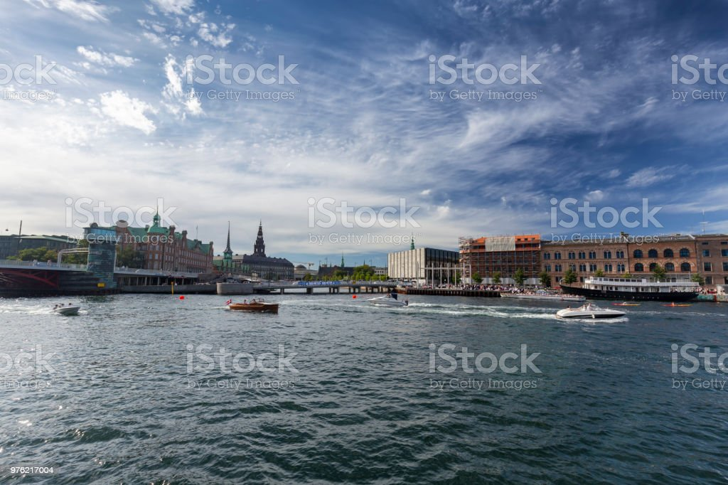 Summer in Copenhagen stock photo