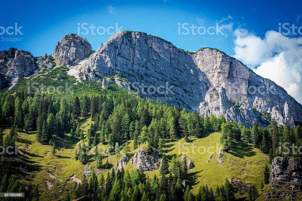 Summer in Dolomites Scenery - foto stock