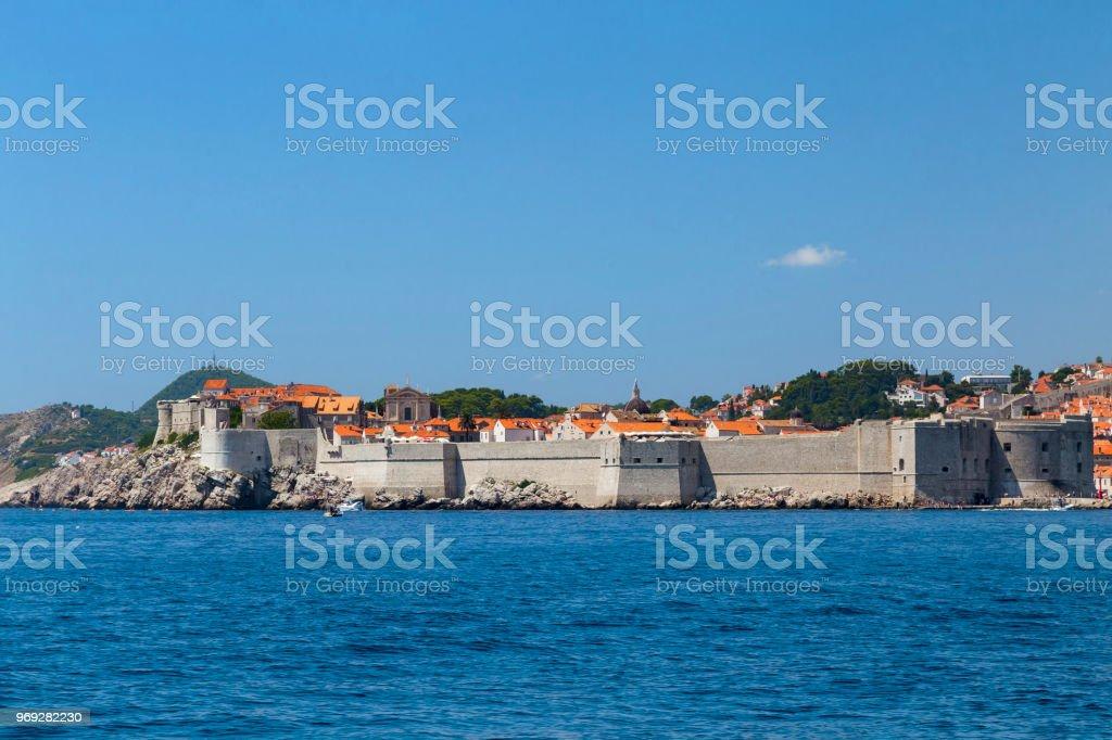 Summer in Dubrovnik stock photo