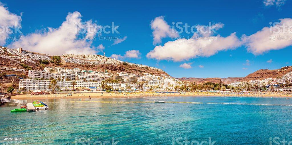 Summer in Gran Canaria stock photo