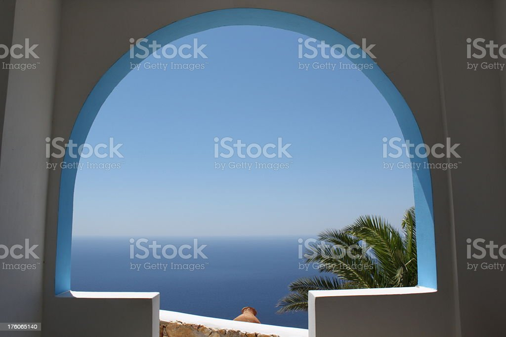 summer in greece royalty-free stock photo