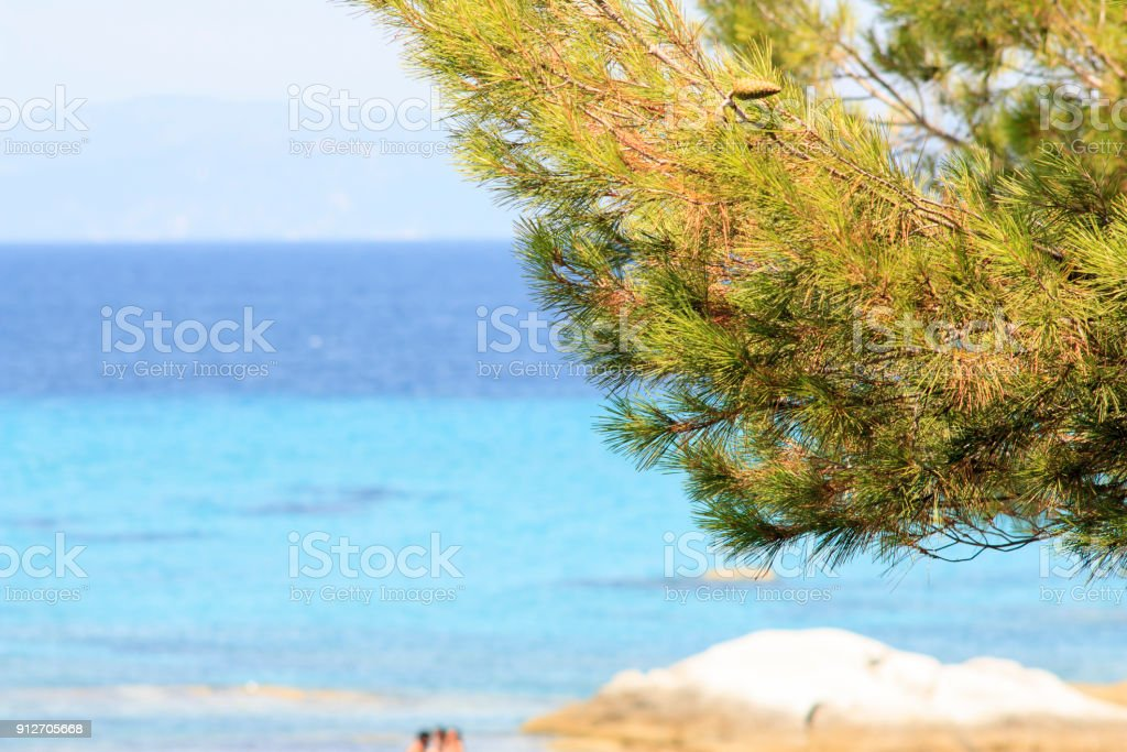 Summer in Greece stock photo
