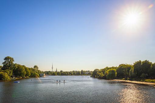 Summer in Hamburg