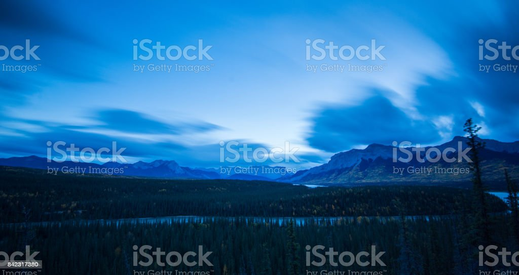 Summer in Jasper stock photo