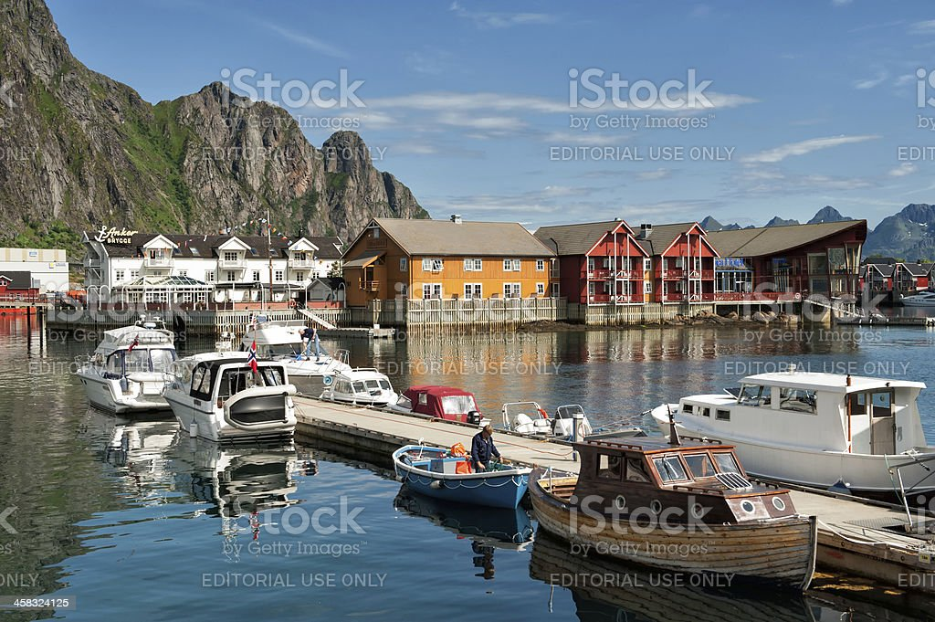 Summer in Lofoten, Norway royalty-free stock photo