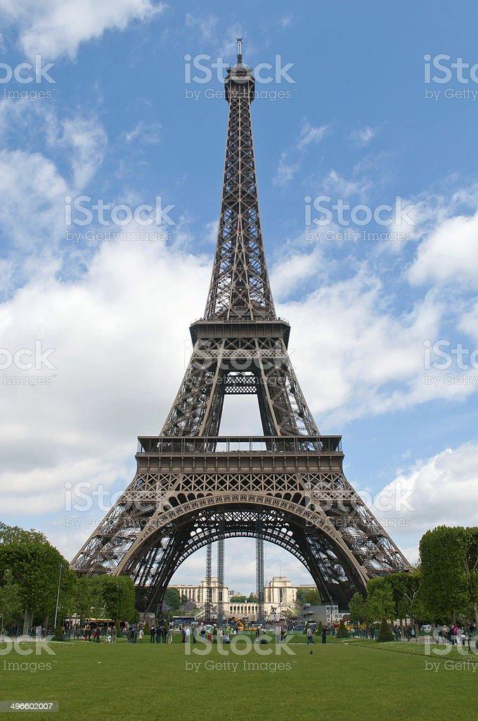 Summer in Paris stock photo