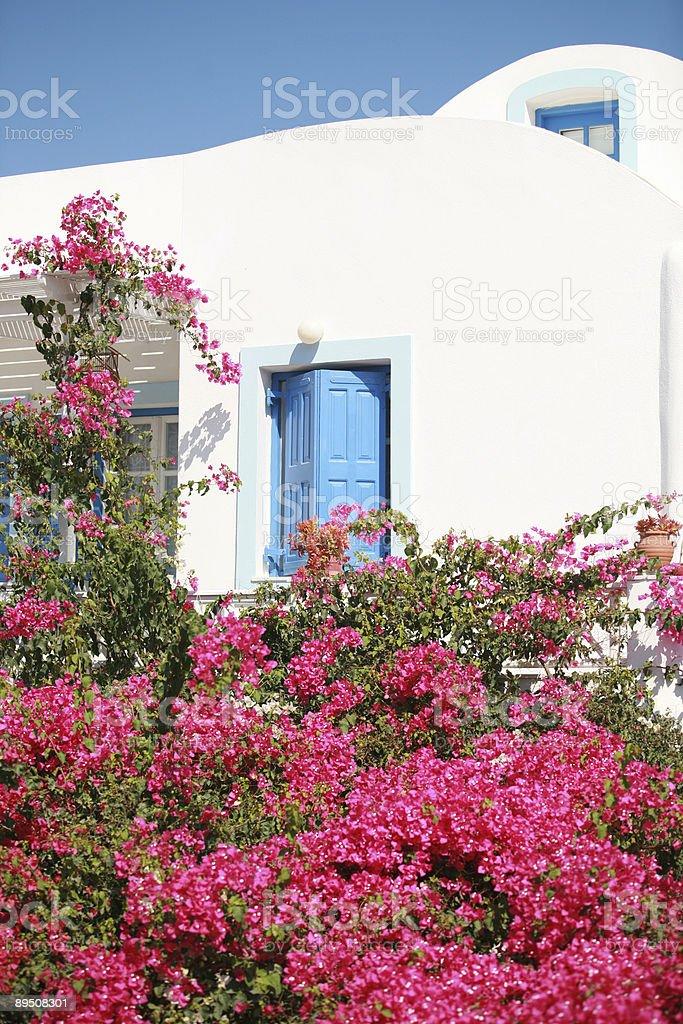 Été à Santorin photo libre de droits