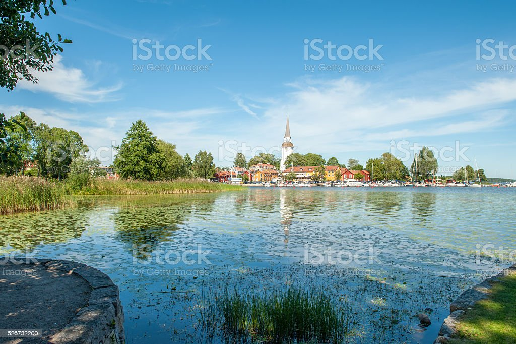 Summer in Sweden stock photo