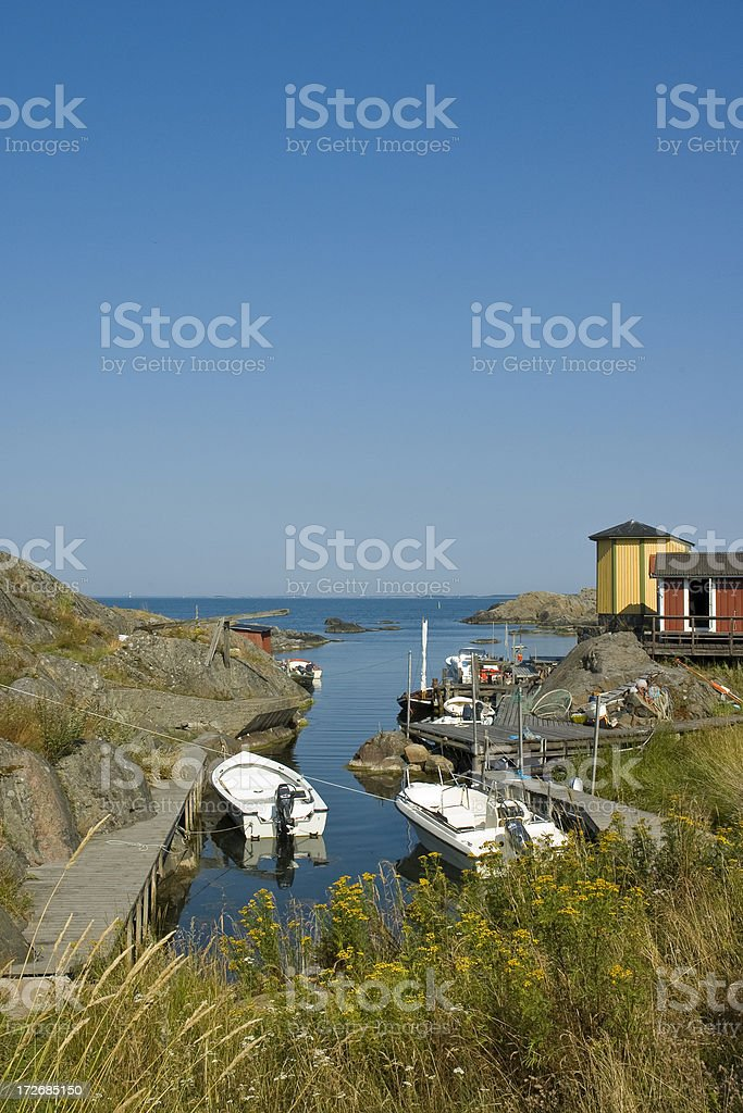 Summer in the archipelago royalty-free stock photo