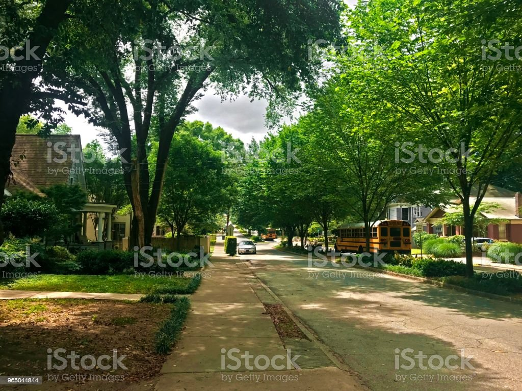 Summer in the city royalty-free stock photo