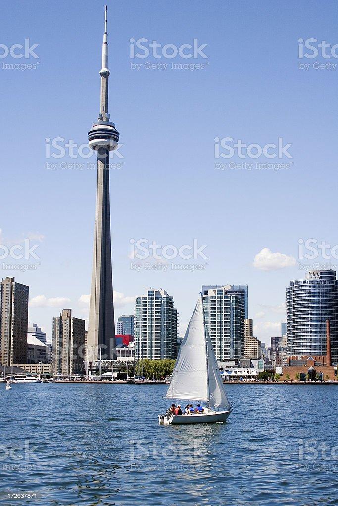 Summer in Toronto royalty-free stock photo