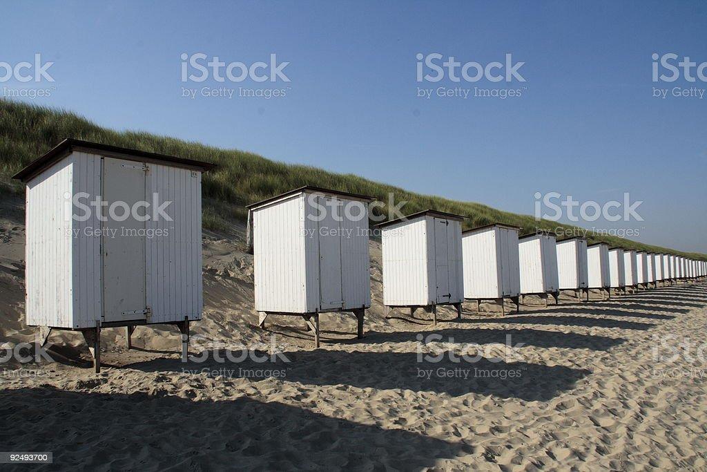 Summer in Zeeland royalty-free stock photo