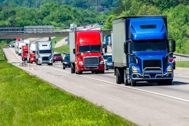 Summer Interstate Highway – Foto