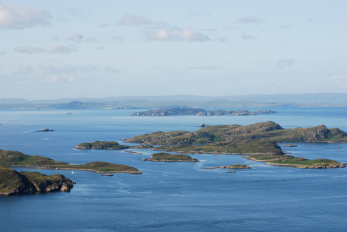 Summer Isles Scotland Stock Photo - Download Image Now