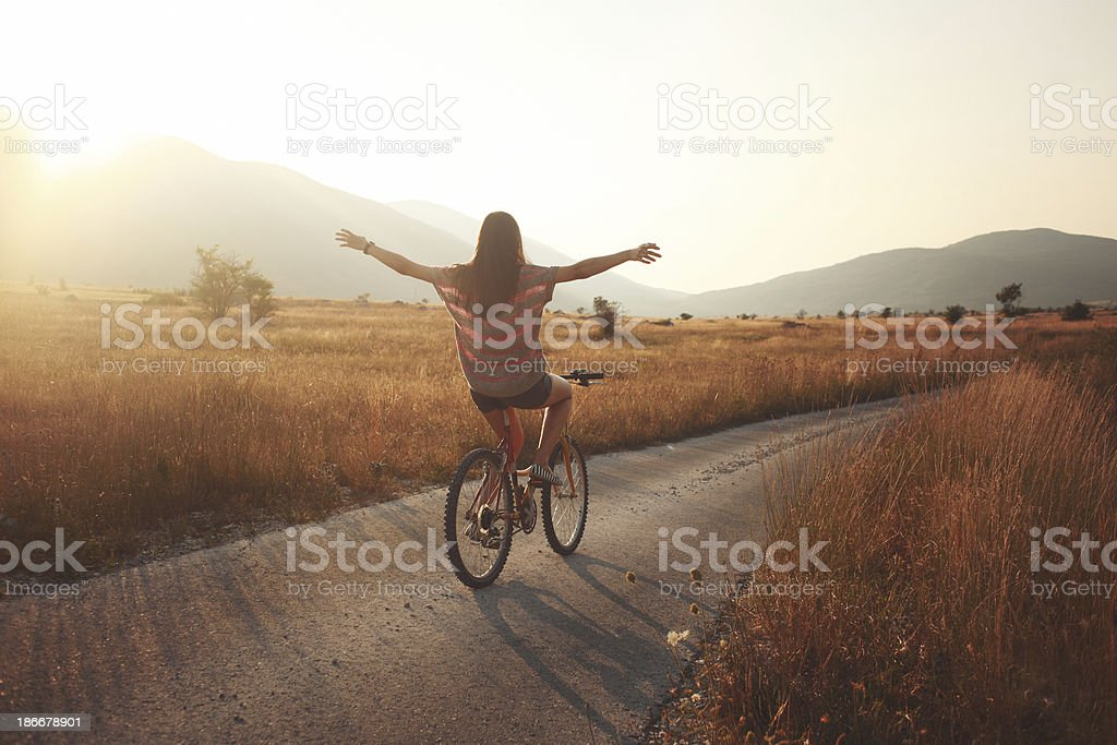 summer joyride stock photo