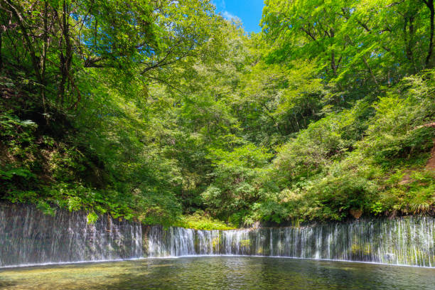 Sommer Karuizawa Shiraito Falls – Foto