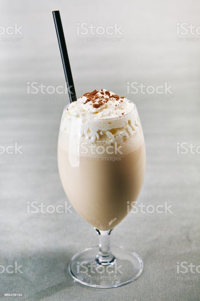 Summer kids milkshake royalty-free stock photo