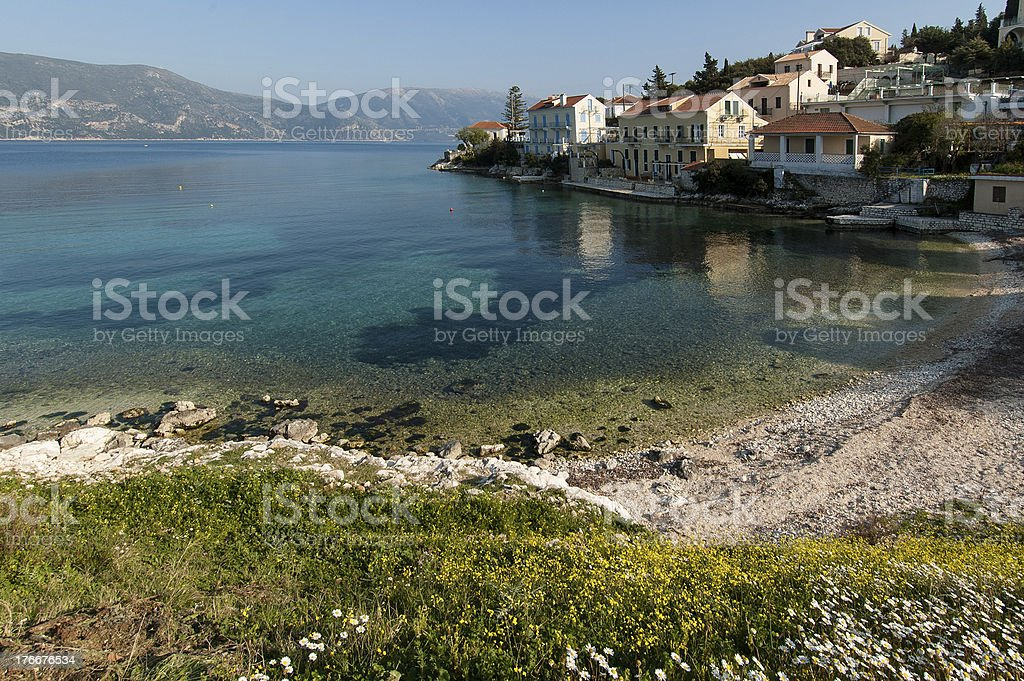 Summer landscape in Greece royalty-free stock photo