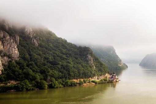 다뉴브 계곡 루마니아의 여름 풍경 0명에 대한 스톡 사진 및 기타 이미지