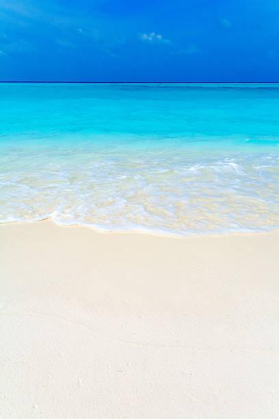 Summer Landscape of Tropical Beach stock photo
