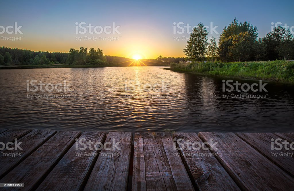 Summer landscape royalty-free stock photo