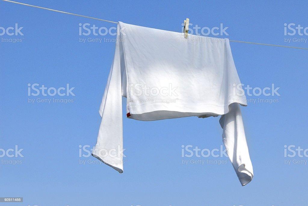 Summer laundry royalty-free stock photo