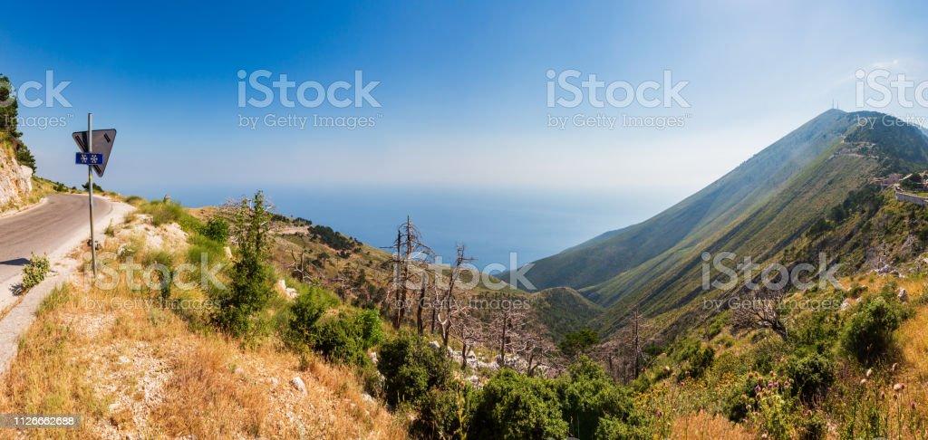 Sommer Llogara Pass, Albanien – Foto