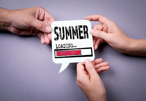 istock Summer loading concept 1144540273