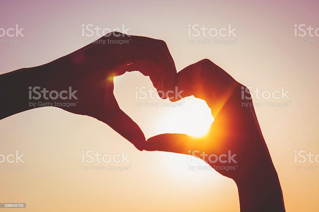 Summer love stock photo