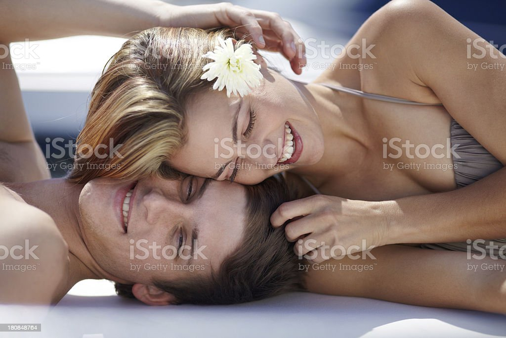 Summer loving stock photo
