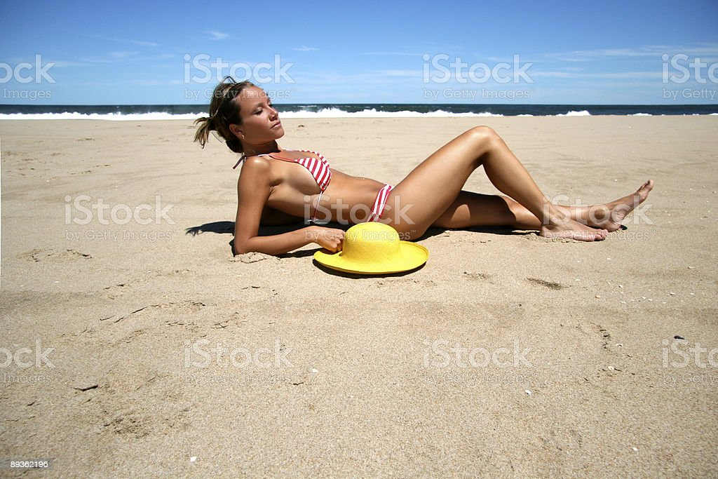 Summer Model royalty-free stock photo