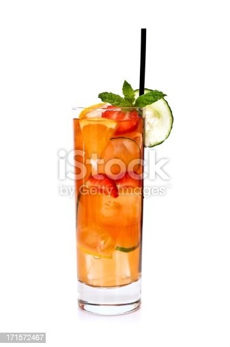 Traditional Einglish Summer Cocktail Pimms