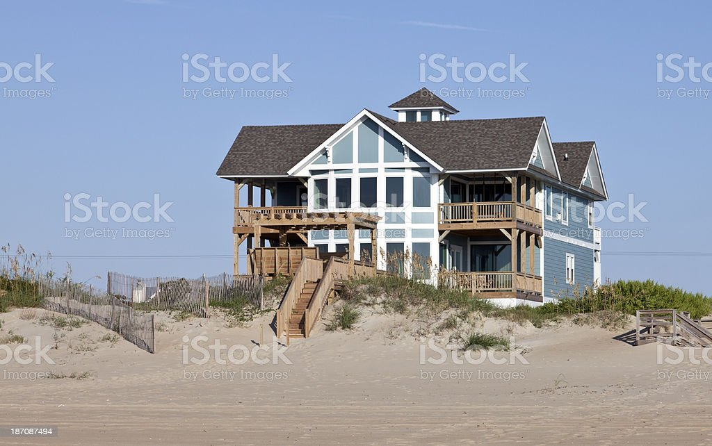 Summer Ocean Rental stock photo