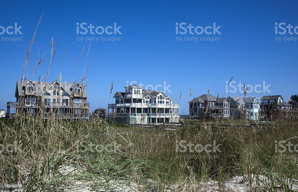 Summer Ocean Rentals stock photo