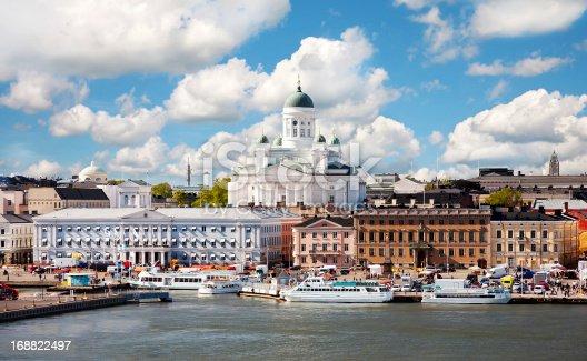 Summer of Helsinki, Finland.