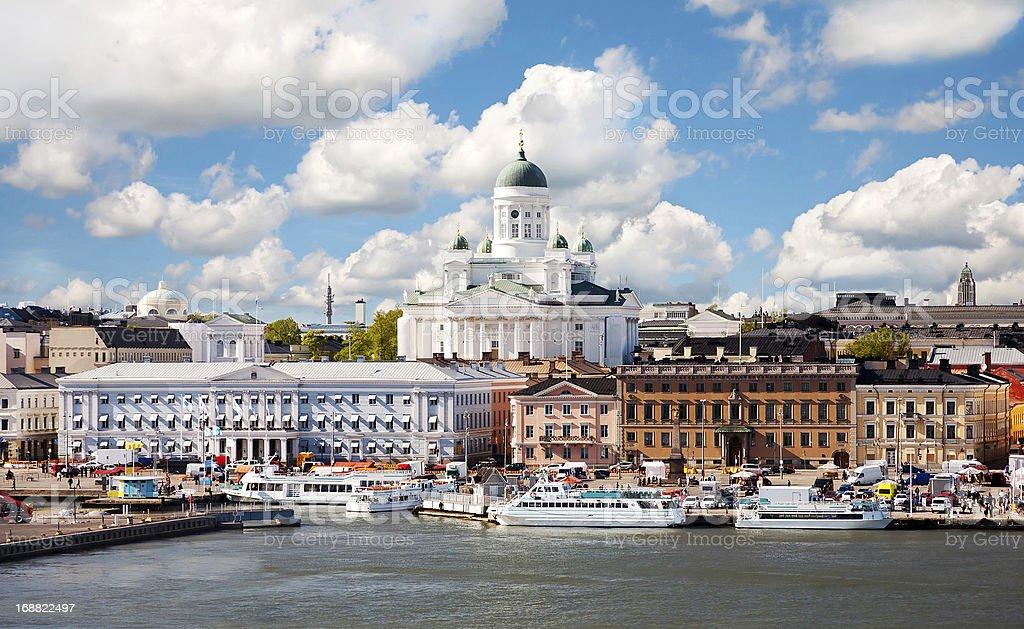 Summer of Helsinki, Finland. stock photo