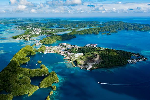 Summer of Koror, Palau Malakal Island – Foto