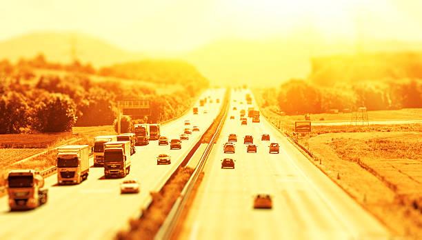 Summer on the freeway – Foto
