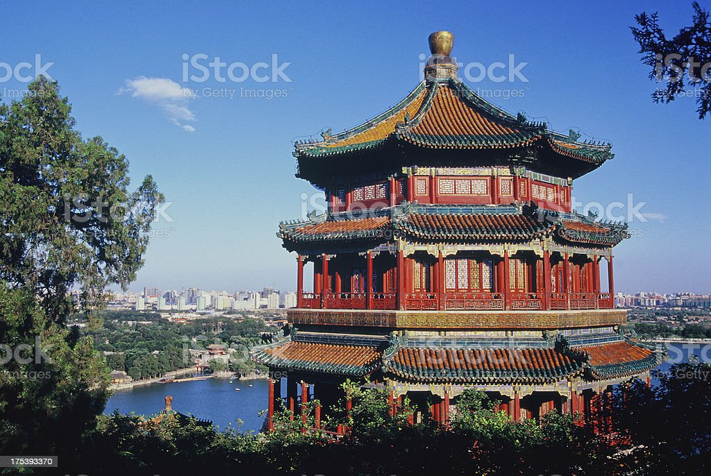 Summer Palace, Beijing, China stock photo