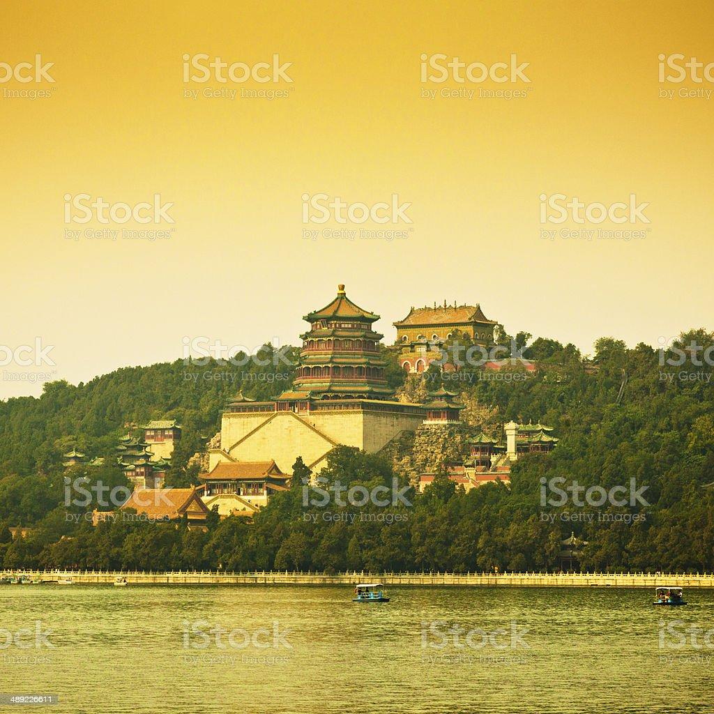Summer Palace Beijing, China royalty-free stock photo