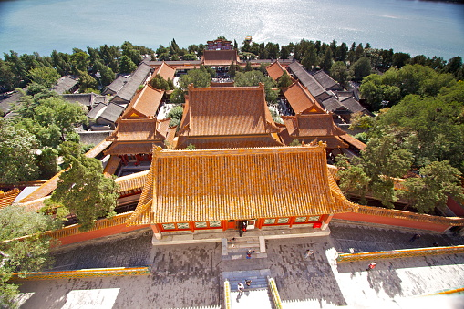 夏の宮殿北京ます - 中国のストックフォトや画像を多数ご用意