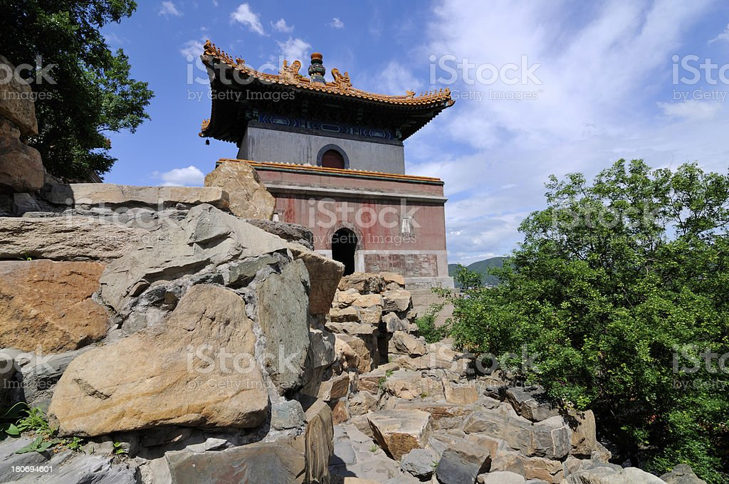 Summer Palace in Beijing, China royalty-free stock photo