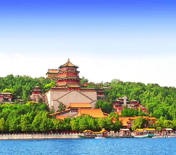 夏の宮殿、北京、中国 - 北京 ストックフォトと画像