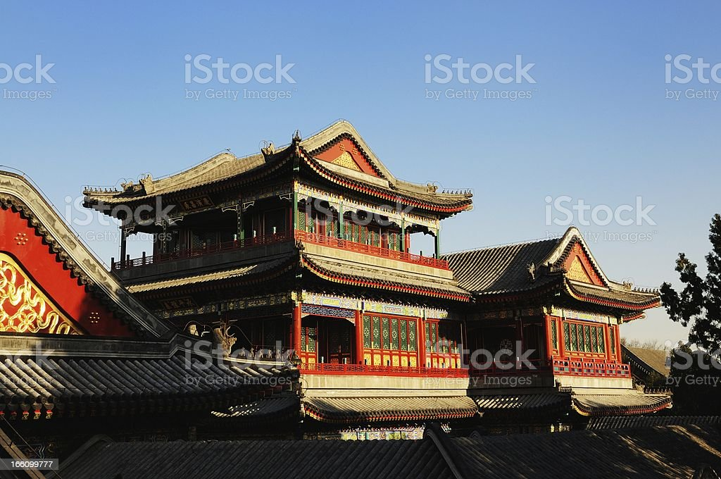 Summer Palace in Beijing royalty-free stock photo