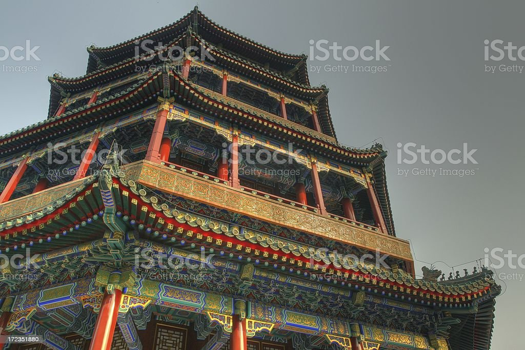 Summer Palace of Beijing royalty-free stock photo