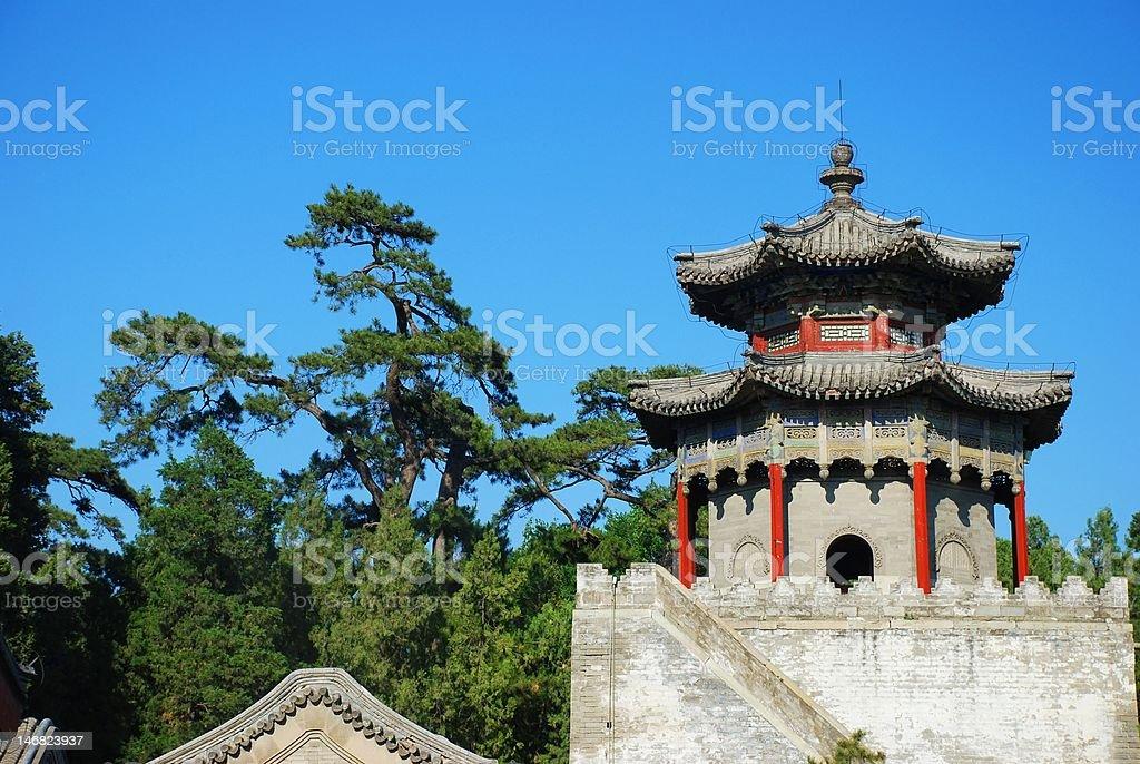 Summer palace royalty-free stock photo