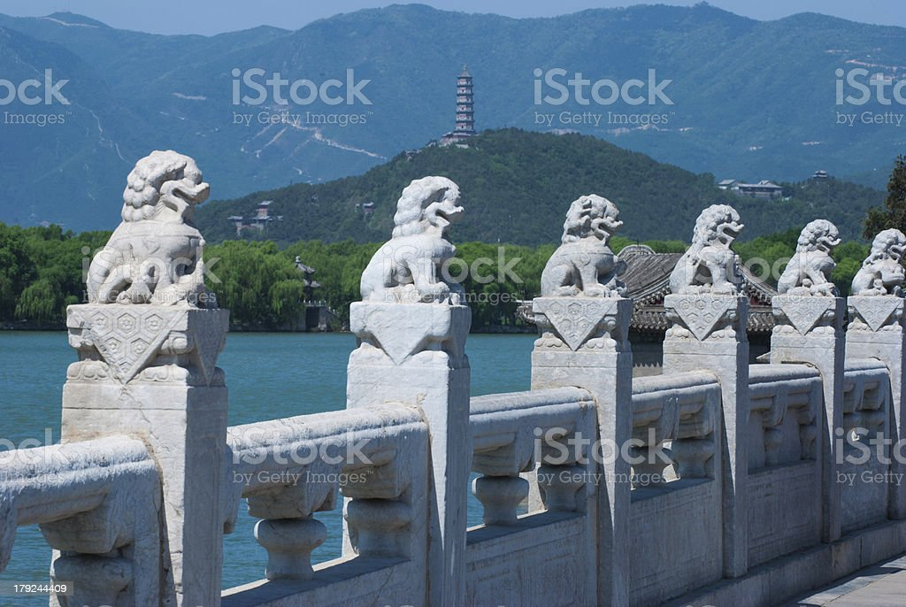 Summer palace royalty-free stock photo