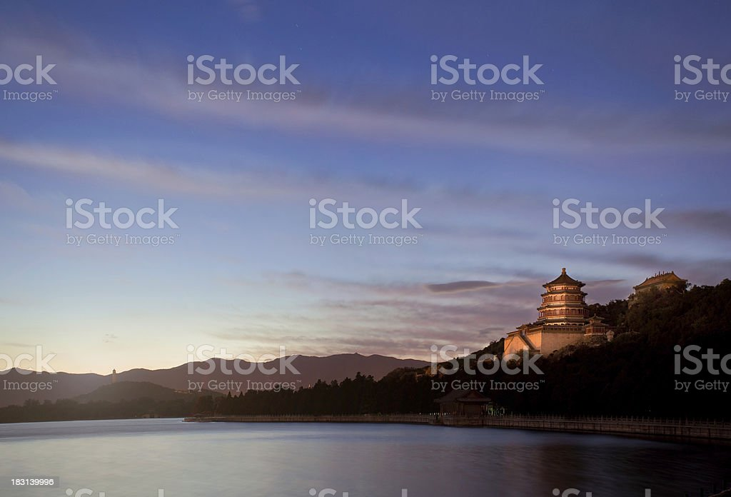 Summer palace Yiheyuan Beijing China royalty-free stock photo