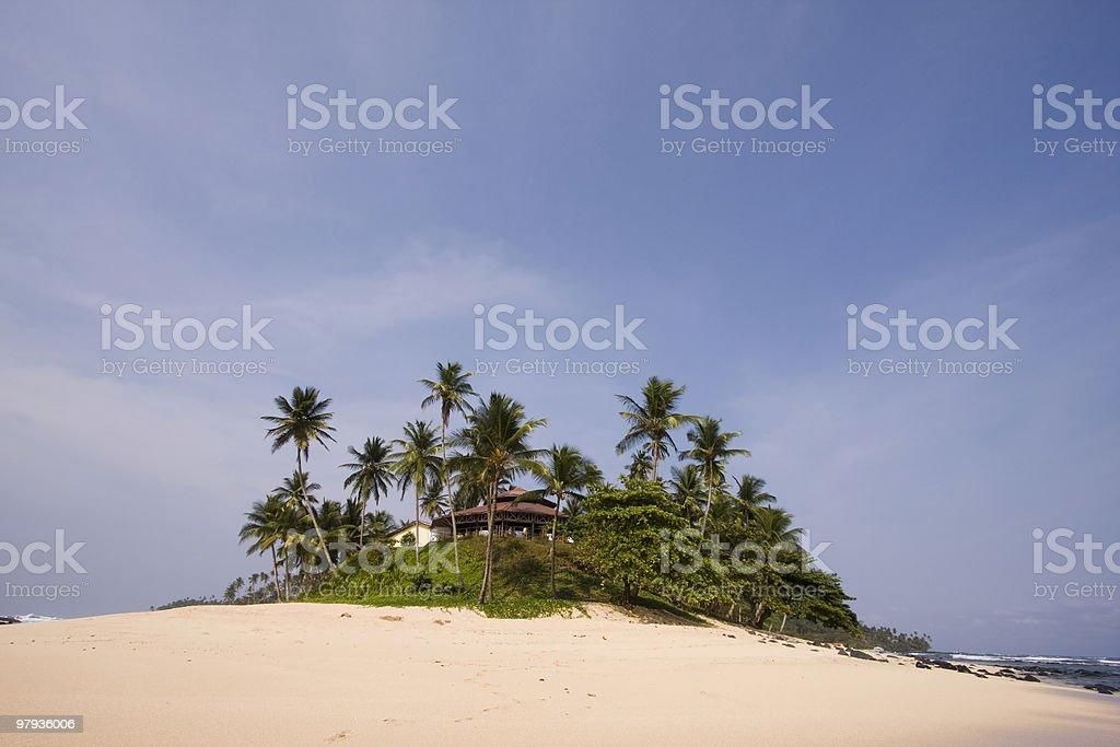 summer paradise resort royalty-free stock photo