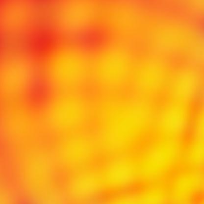 Summer Party Backdrop Orange Wallpaper Design Stock Photo